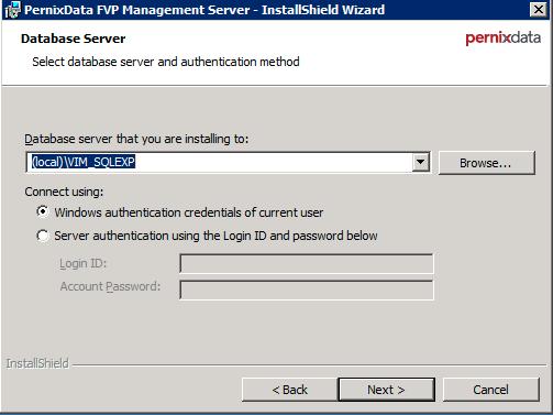 FVP Install